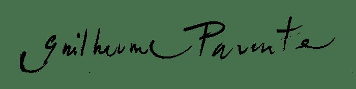 Assinatura de Guilherme Parente